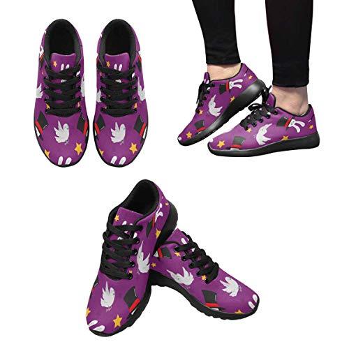 Multi InterestPrint Women's Sneakers Trainers Running 4 Cross B4RqTC