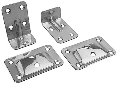 Sea Line Stainless Dog Steel (Sea Dog Line Stainless Table Brackets (Set))