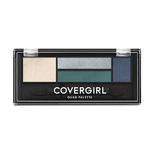 COVERGIRL Eye Shadow Quads Breathtaking Blues 725, .06 oz