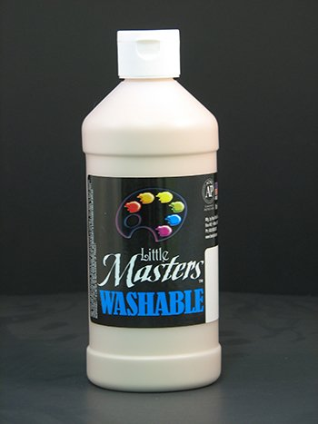 Little Masters Peach 16oz Washable Paint