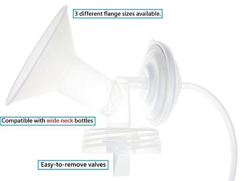 Nenesupply-Generic-Pump-Parts-for-Spectra-S2-Spectra-S1-Spectra-9-Plus-Breastpump-Flange-Valve-Tubing-Backflow-Protector-Not-Original-Spectra-Parts-Replace-Spectra-Flange-Spectra-Valve-and-Tubing