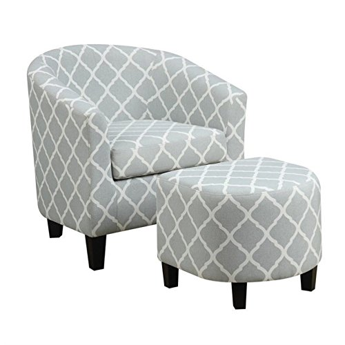 Pulaski DS-2278-900-5 Upholstered Barrel Accent Chairs, 29.13