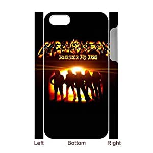 Personalized Durable Cases iphone4 4S 3D Cell Phone Case White Helloween Wpucc Protection Cover