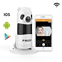 FREDI Baby Monitor Wireless WIFI IP Surveillance Camera 1080P HD Security Cam...