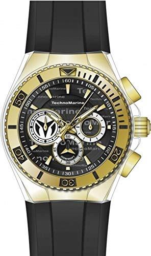 Technomarine Watch Men's Cruise 46mm Chronograph (TM-118123) (Technomarine Men Watch)