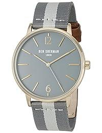 Ben Sherman Men's WB044EGA Portobello Stripe Analog Display Quartz Multi-Color Watch