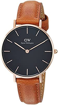 Daniel Wellington Classic Petite Durham in Black 32mm