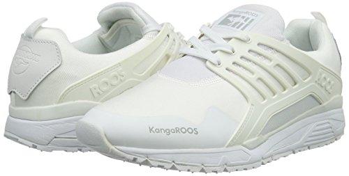 006 Top White KangaROOS 000 Runaway Low Roos Herren Weiß 4w46XRt