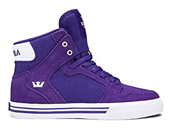 Supra Kids Mens S11235K-462 Vaider (Little Kid/Bid Kid) - Purple - 2