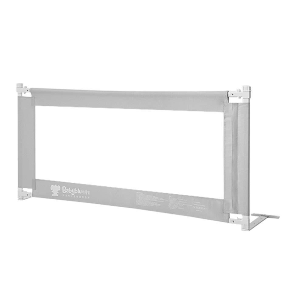 Xyanzi-ガードレールフェンス 幼児のための網のベッドの柵、子供及び赤ん坊のBedrailの高さ調節可能なキング/クイーンサイズのベッドのために調節可能なベッドの柵の監視高さ (色 : グレイ ぐれい, サイズ さいず : 1.8m) 1.8m グレイ ぐれい B07SDLB68L