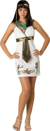 [Cleopatra Cutie Egyptian Womens Teen Costume] (Cleopatra Cutie Adult Costumes)