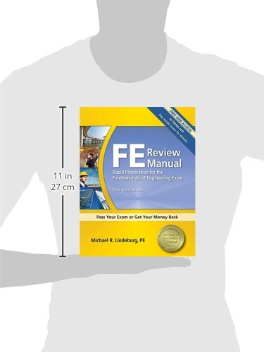 FE Review Manual: Rapid Preparation for the Fundamentals of Engineering Exam, 3rd Ed