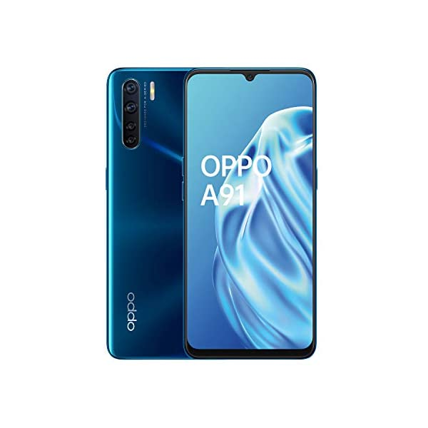 OPPO A91 Smartphone , Display 6.4'' AMOLED, 4, Fotocamere,128GB Espandibili, RAM 8GB, Batteria 4025mAh, Dual Sim, 2020… 1 spesavip