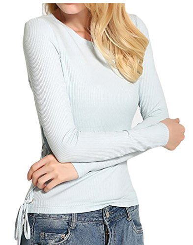 3 Button Ribbed Hoodie - 2