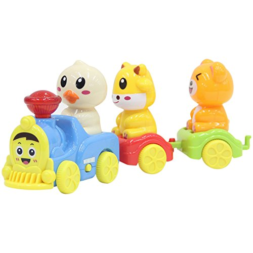 fun wee Toy Train For Toddlers - Electric Kids Train - Play Sounds Of Different Farm Animals - Magical Adventures on Wheels, lets ride the Railways of the World - (Ride 3 Piece Costumes)