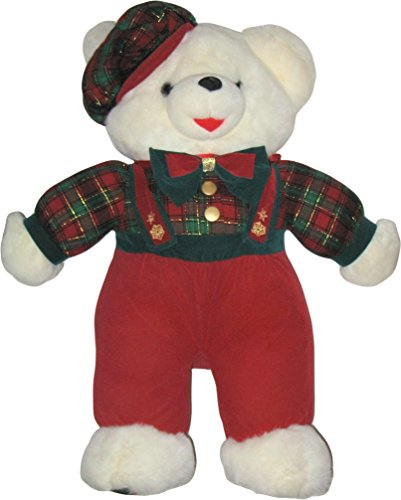 Snowflake Teddy 1996 Boy Christmas Teddy Bear Dressed 21