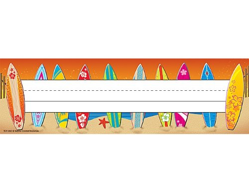 Teacher Created Resources Surf's Up Name Plate (5362)