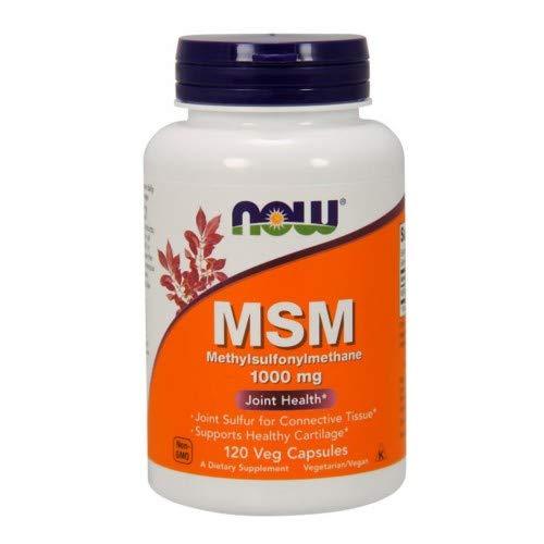 Now Foods MSM 1000 Milligrams - 120 VCaps 12 Pack