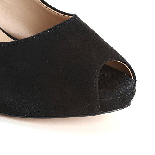 Negro sin amp;Scarpe de Zapatos ALESYA punta Scarpe by salón pZn8Fz