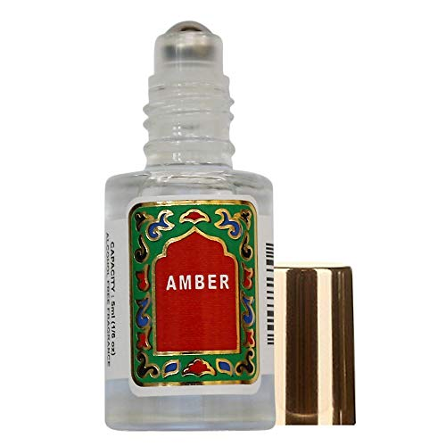 Nemat - Amber White Roll-on Perfume (5ml/.17fl Oz)