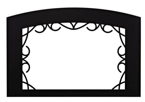 (Empire Comfort Systems Decorative DF35YBL Lafayette Front for Fireplace Insert - Black)