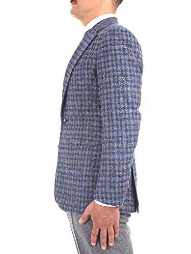 Latino Blazer Laine Gvfausto252tmg38b20 Homme Stile Bleu 7Pqffd