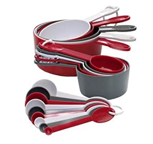 Mainstays 19-Piece Measuring Cup and Spoon Set
