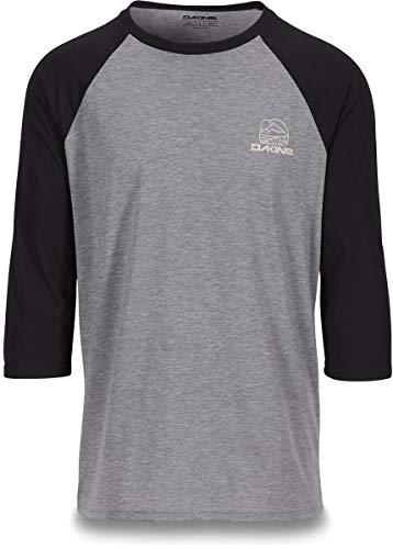 - Dakine Well Rounded 3/4-Sleeve Raglan Tech T-Shirt - Men's Black, M