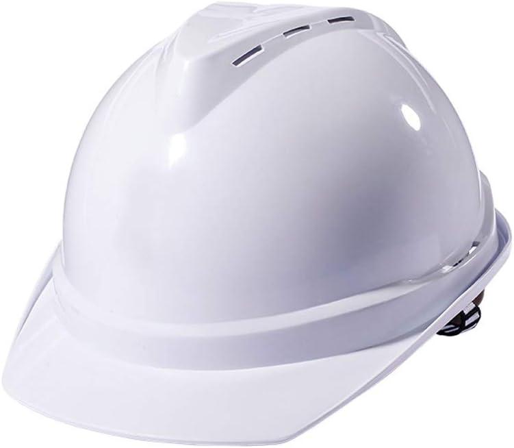 WYNZYSLBD Casquillo De Construcción De Seguridad, Casco De Construcción De Gama Completa, Certificado Y Ligero, Opcional (Color : White): Amazon.es: Hogar