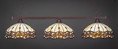 - Toltec Lighting 803-997 Billard Pendant