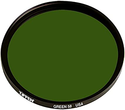 Green Tiffen 52mm 58 Filter