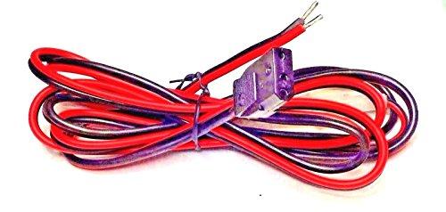 CBK Supply - Cea-CB3A Power Cord Single Sideband Cobra, Galaxy, Uniden CBs 4A 3-pin 13.8VDC