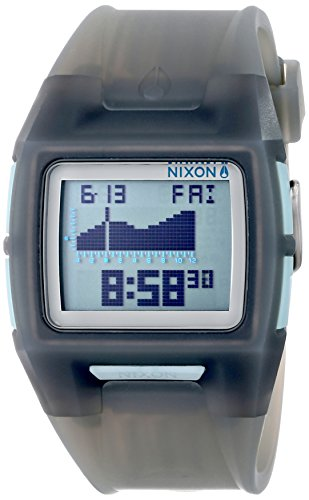Nixon Men's The Lodown II - The X-Ray Collection Translucent Charcoal Watch