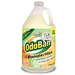 OdoBan Odor Eliminator and Disinfectant Concentrate, Cucumber Melon (1, 1 Gallon)
