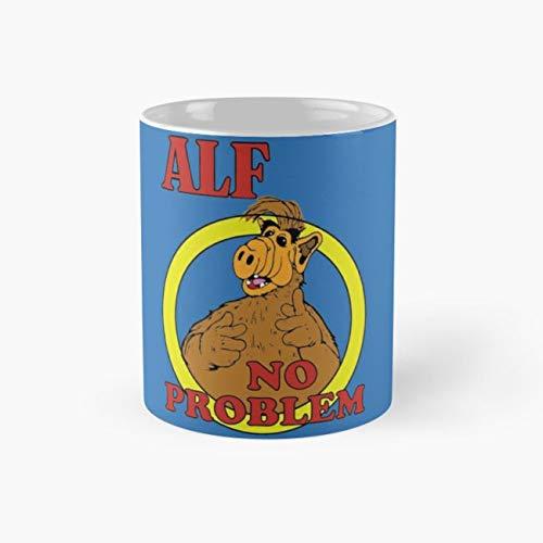 Alf TV Alien Show 1980s 80s Sitcom Comedy Mug, alf Cup, 11 Ounce Ceramic Mug, Perfect Novelty Gift Mug, Funny Gift Mugs, Funny Coffee Mug 11oz, Tea Cups 11oz -