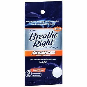 11 Pack-breathe Right Nasal Strips-advanced (2 Strips Per Pack)