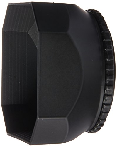 CowboyStudio 52mm DV-s DV Screw Mount Lens Hood with Cap for Digital Video Camera and Camcorder, Sun (Camcorder 52 Mm Lens)