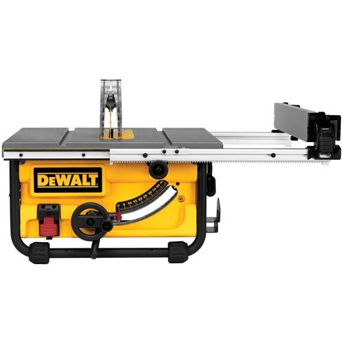 Dewalt dwe7480 10 inch compact job site table saw with for 10 dewalt table saw