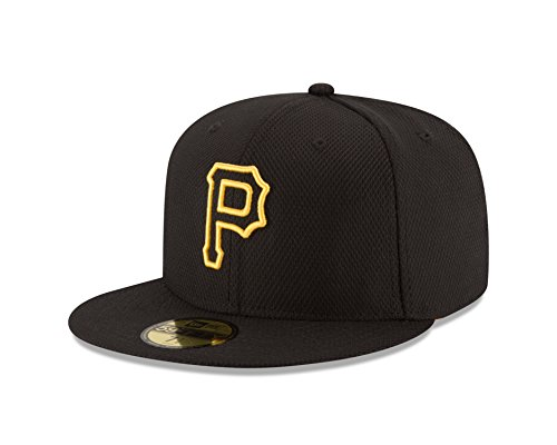 (MLB Pittsburgh Pirates Men's Diamond Era 59FIFTY Cap, 7.375, Black )