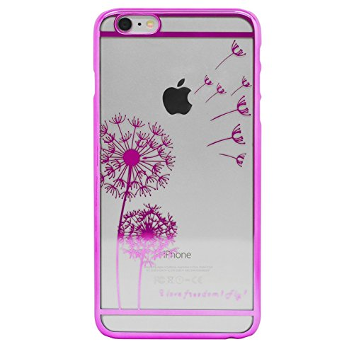 YW&F iPhone 6 6s Pusteblume Hülle - Pink