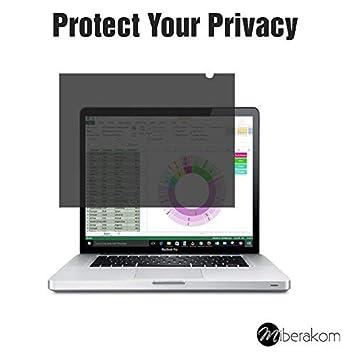 miberakom - Privacy Screen filtro/ filtro de privacidad/ Privacidad Protector de pantalla para portátiles