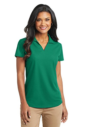Grid Apparel - Port Authority Ladies Dry Zone Grid Polo, Jewel Green, XX-Large