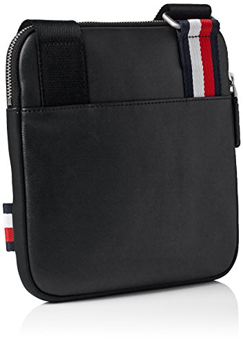 hombro y Shoppers Th Hilfiger de Crossover bolsos Mini City Hombre Black Negro Tommy fUxna