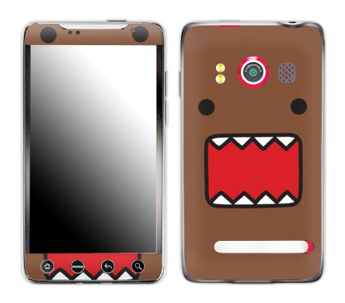 Zing Revolution MS-DOMO10132 Domo - Face Cell Phone Cover Skin for HTC Evo ()