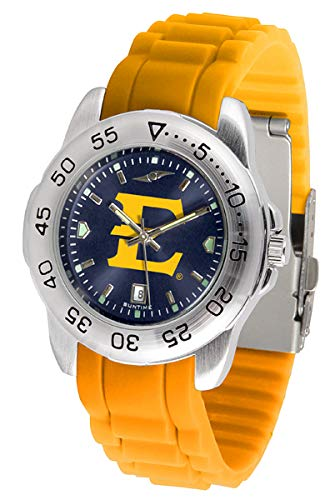 New Linkswalker Mens East Tennessee State Buccaneers Sport Ac Anochrome Watch