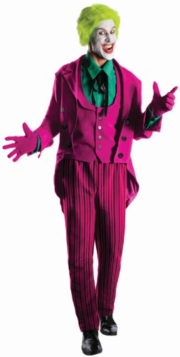 From Joker Costumes Batman (Rubie's Costume Grand Heritage Joker Classic TV Batman Circa 1966, Multi-Colored, X-large)