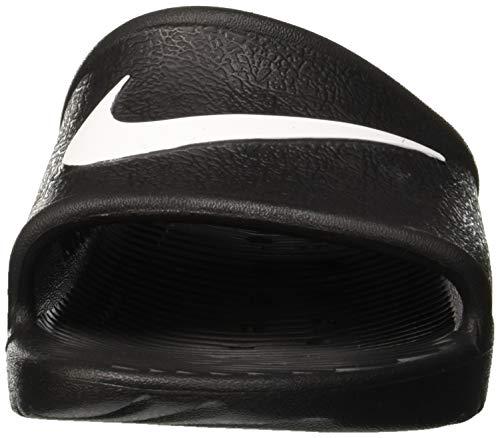 Nike Mules noir blanc Kawa Femme Shower Wmns Noir wtZqp4wr