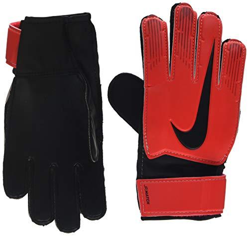 Nike Goalkeeper Match Gloves (Red/Black, 7) ()