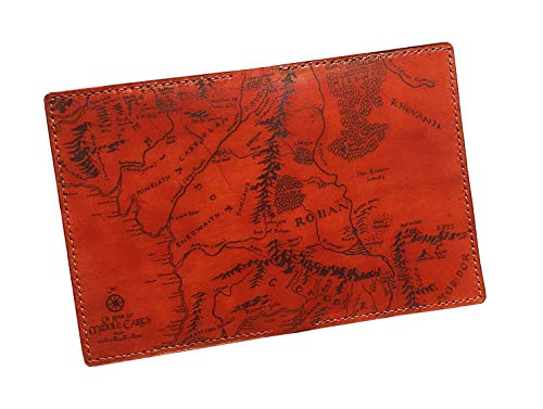 - Unik4art - The Lord of the Rings Personalized leather handmade travel passport cover holder wallet case