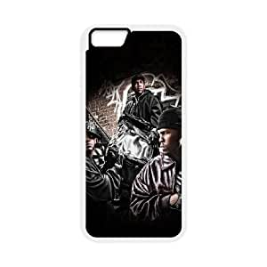 iPhone 6 4.7 Inch Cell Phone Case White hd53 music 50cent hiphop art celebrity OJ530305